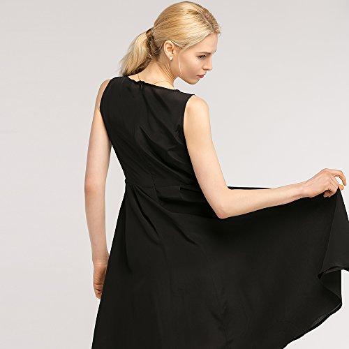 Kleider Schwarze Partykleider Sonderangebot LilySilk Seidenkleider Schlicht Cocktailkleider Seide 3 schwarz 5wWq7Oa1