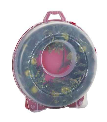 IRIS Holiday Wreath Storage 30 Inch