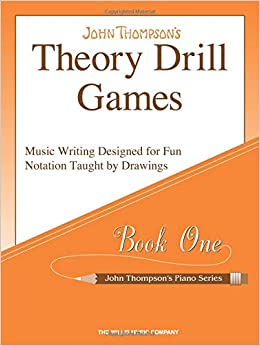 theory drill games set 1 early elementary level john thompsons piano series