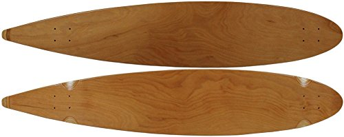 Moose Pintail Deck, 9 x 47, Natural (Longboard Loaded Pintail)