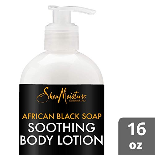 SheaMoisture African Black Soap Body Lotion, 16 Ounces
