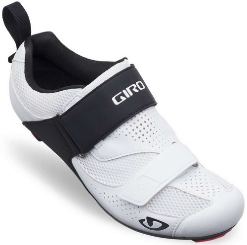 Giro 2017 Inciter Tri Road Cycling Shoes (White/Black – 46.5) For Sale