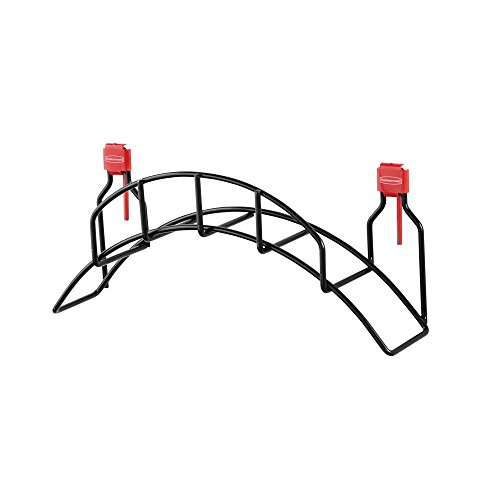 Rubbermaid Consumer Shed Accessories Garden Hose Holder, Black (Rubbermaid Garden Shed)