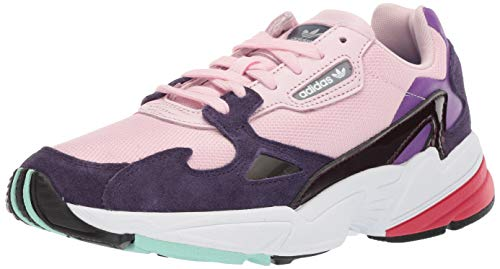 (adidas Originals Women's Falcon, Clear Pink/Legend Purple, 9.5 M US)