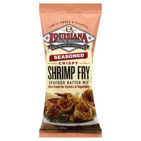 Louisiana Fish Fry Louisiana Shrimp Fry, 10 oz (Pack of 1) by Louisiana Fish Fry Products