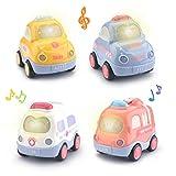 Beville Pull Back Cars for Toddler Boys & Girls,Set