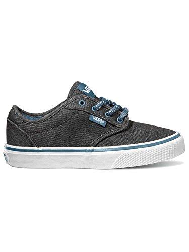 Vans Atwood J - Zapatillas de Lona para niño Negro Nero/Blu