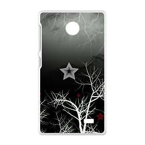 Artistic Tree Branch White Phone Case for Nokia Lumia X