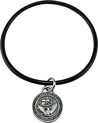 United States Military Navy Charm Band (Military Navy Bracelet)