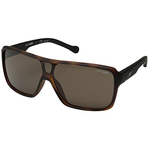 Arnette Tallboy AN4210-02 Shield Sunglasses, Brown, 133 - Brown Arnette Sunglasses