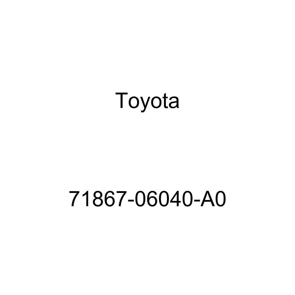 TOYOTA Genuine 71867-06040-A0 Seat Cushion Shield