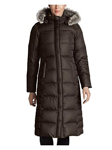 Duffle Jacket Coat - Eddie Bauer Women's Lodge Down Duffle Coat, Cocoa Regular M