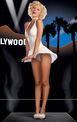 Hollywood Starlet Costume - X-Large - Dress Size 14-16