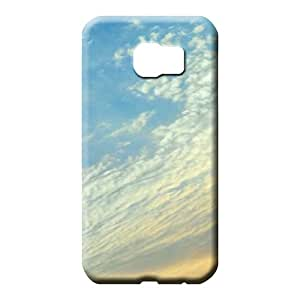 samsung galaxy s6 covers Premium Pretty phone Cases Covers mobile phone carrying covers sky blue air white cloud