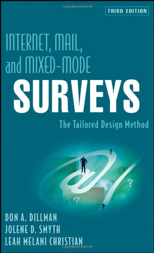 Internet, Mail, and Mixed-Mode Surveys: The Tailored...
