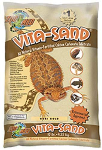 Zoo Med Vita Sand, 10 Pounds, Gold (Desert Blend)
