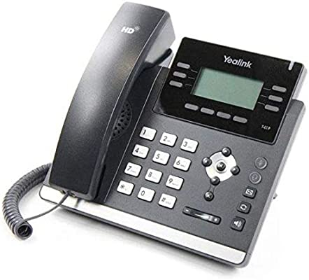 IP Phone Yealink SIP-T41P, 2GbE Ports, 6 VoIP Accounts, PoE