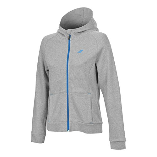 Heather Babolat Hoodie Tenis High Gris nbsp;core Mujer large nbsp;– Extra Rise xRvnIZxq