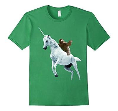 Unicorn Sloth T Shirt Design- Funny Animal T Shirt