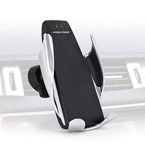2019 10W 15W Penguin Wireless Charging car Mount Vehicle Infrared Sensor QI cert Wireless Car Holder Charger ()