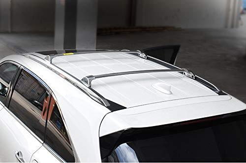 SnailAuto Silver Roof Rack Cross Bars Crossbars Fit for Nissan Kicks 2017 2018 2019 2020