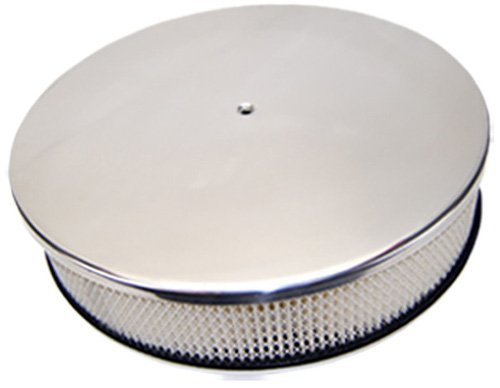 Mota Performance A10840 Smooth Polished Aluminum Air Cleaner 14