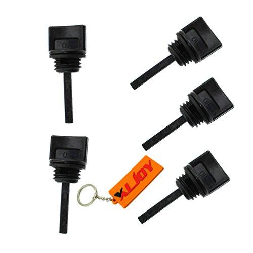 XLJOY 5 pcs Oil Dipstick Fits Honda GX110, GX120, GX160 & GX200 Engine Generator Lawnmower Water Pump Go Kart Mini Bike