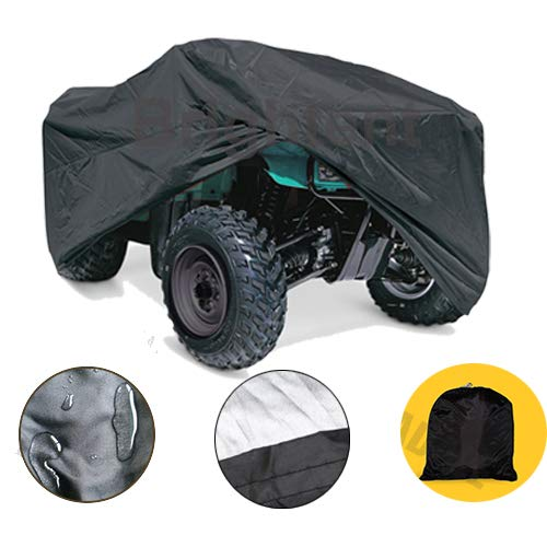 (RockyMRanger-ATV covers Universal Quad Storage Protection Waterproof for Honda Polaris Yamaha Suzuki YA2YV)