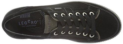 Mujer Schwarz Multi Legero Zapatillas 03 Negro Schwarz Tanaro H4nnIwZpE