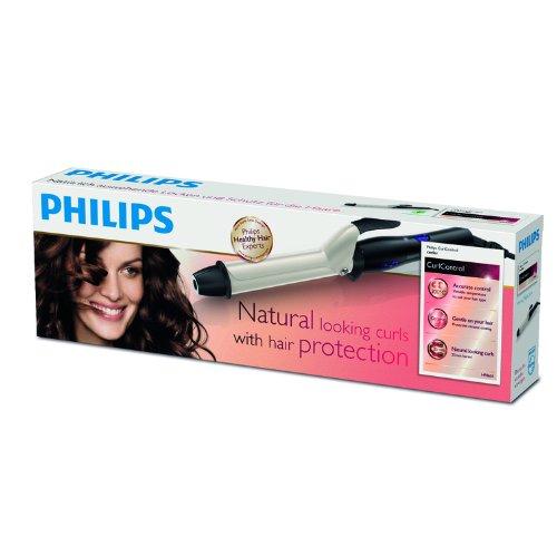 Philips HP8605/00 - Rizador CurlControl de 200º con cilindro cerámico de 25mm con punta fría y base de seguridad: Amazon.es: Salud y cuidado personal