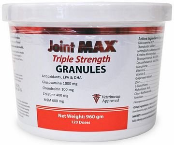 Joint MAX TRIPLE Strength GRANULES (960 gm), My Pet Supplies