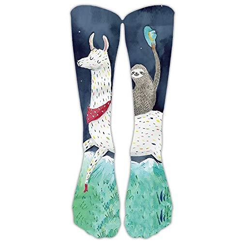 YITU Unisex Hip-hop 3D Multi Pattern Print Cartoon Animals Sport BasketBall Casual Socks -Stockings-SLQ (Pattern Cartoon Casual)
