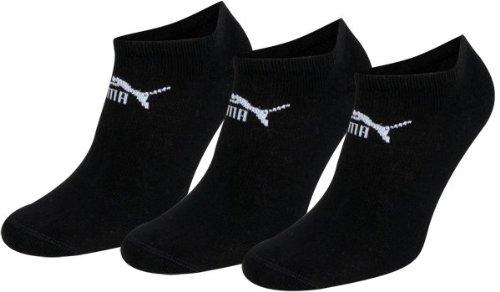 Puma, Calzini da sneaker, Nero (Schwarz), S