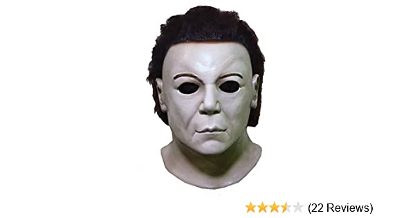 Amazon.com: Trick or Treat Studios Mens Halloween 8-Resurrection Mask, Multi, One Size: Clothing