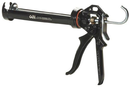 (COX 41004-XT Chilton Extra Thrust 10.3-Ounce Cartridge Cradle Manual Caulk Gun)
