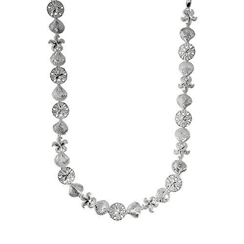 "Bracelet de Coquillage-Argent 925/1000-8 ""- JewelryWeb"