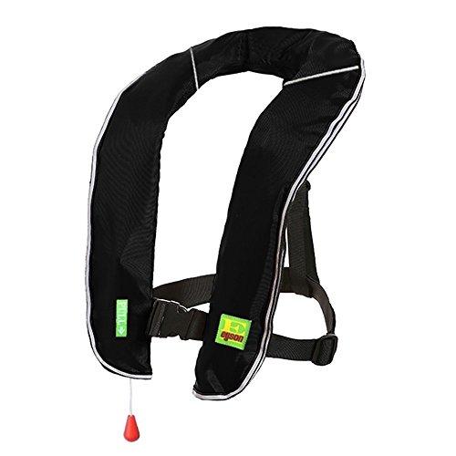 Lifesaving Pro Premium Manual Inflatable PFD Survival Buoyancy, Hunting/Fishing/Kayaking/Boating/Canoeing/Paddling/Sailing Sup Life Jacket, Classic Design ()