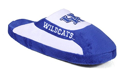 KEN07-2 - Kentucky Wildcats - Medium - Happy Feet Mens and Womens - NCAA Low Pro Slippers