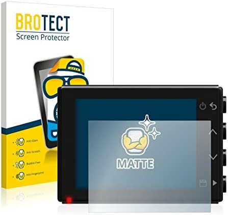Brotect 2X Matte Screen Protector for Garmin Dash Cam 65 Anti-Scratch Anti-Glare Matte
