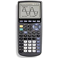 Texas Instrument TI83PLUS TI-83PLUS Programmable Graphing Calculator, 10-Digit LCD