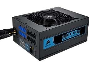 Corsair HX1000W Power Supply - Fuente de alimentación (1000 W, 50-60 Hz, 100000 h)