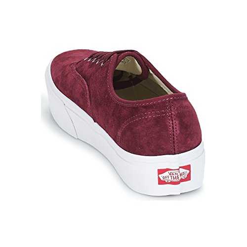 Taglia Piattaforma Bordeaux Sneakers Vans Donna Vn0a3av8s3n 40 Platform Basse Authentic t0AwAWaq