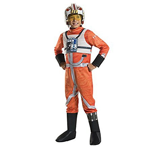 Star Wars Jedi Fighter Pilot Children's Costume, Large 12/14]()