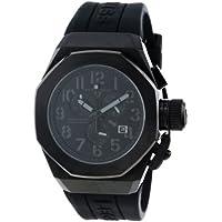 Swiss Legend Men's 10542-BB-01-GRYA Trimix Diver Chronograph Black Dial Black Silicone Watch
