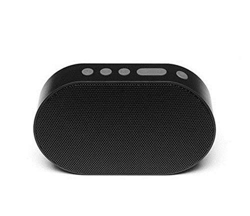 Donghechengkang ワイヤレススマートスピーカーWi-Fi + Bluetoothワイヤレススピーカーポータブルスピーカー (Color : ブラック)   B07QJ3P2FK