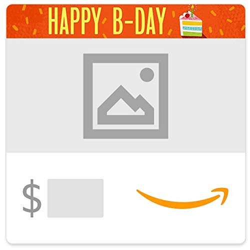 Amazon eGift Card - Upload Your Photo - Birthday Cake