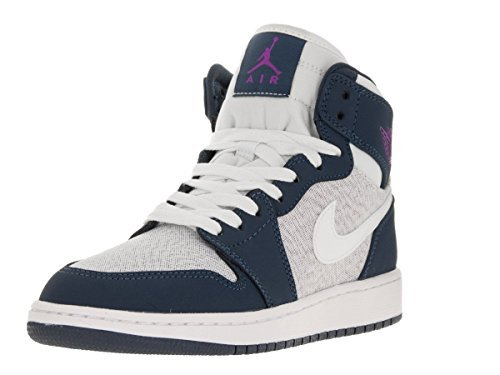 AIR JORDAN 1 RETRO HIGH GG 332148-117 SAIL/HYPR VLT-SQDRN (7.5Y) by Jordan