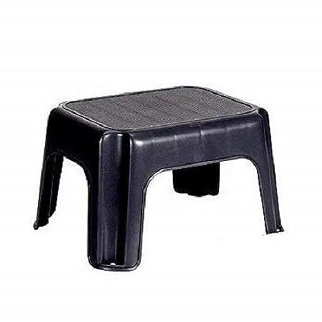 Magnificent Rubbermaid Step Stool Fg275300Cylnd Small Gray Inzonedesignstudio Interior Chair Design Inzonedesignstudiocom