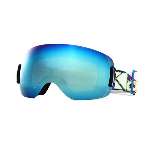 Lunettes Ski Soleil Lunettes Anti brouillard Blue TZQ Alpinisme Lunettes Adultes Sphériques De De R0ZxZ5nq