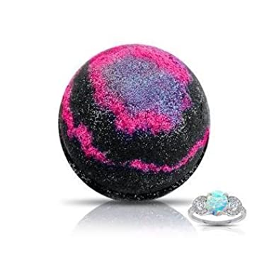 GALAXY Ring Bomb - XL Bath Bomb with Ring (VARIOUS RINGS INCLUDED) -Smells like BLACKBERRY